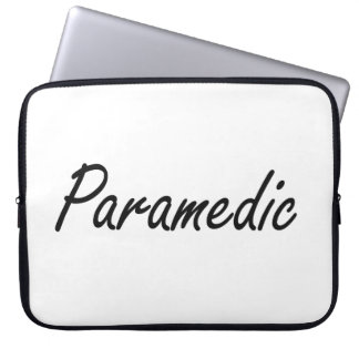 Paramedic Artistic Job Design Computer Sleeves
