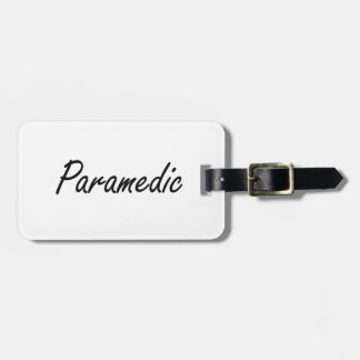 Paramedic Artistic Job Design Luggage Tag