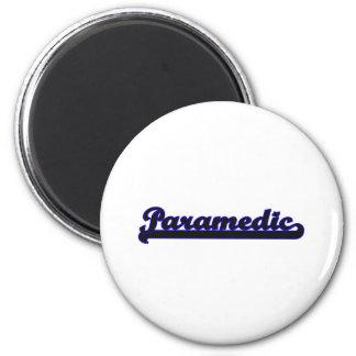 Paramedic Classic Job Design 2 Inch Round Magnet