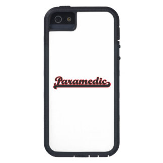 Paramedic Classic Job Design iPhone 5 Covers