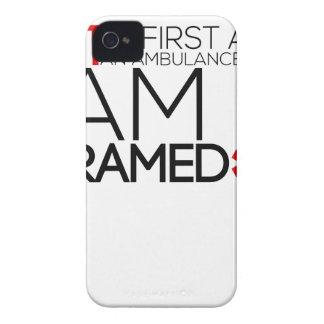 paramedic design cute iPhone 4 case