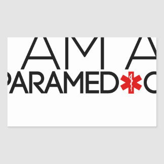 paramedic design cute sticker
