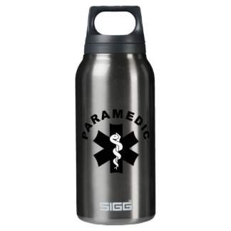 Paramedic EMS Logo Insulated Water Bottle