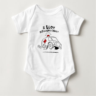 paramedic emt baby bodysuit