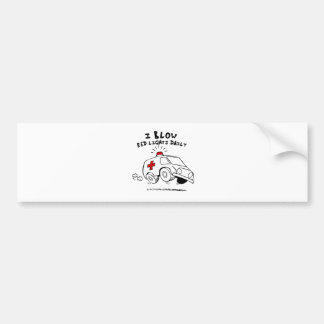 paramedic emt bumper sticker