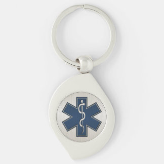 Paramedic EMT EMS Deluxe Keychain
