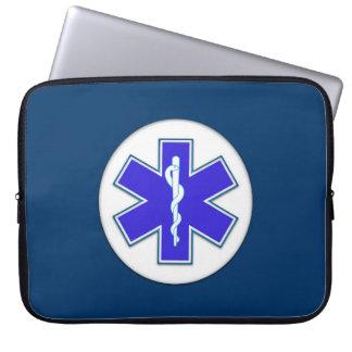 Paramedic EMT EMS Laptop Sleeve