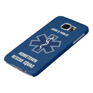 Paramedic EMT EMS Name Template Samsung Galaxy S6 Cases
