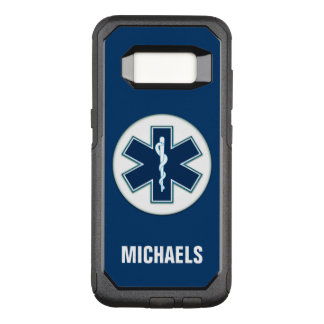 Paramedic EMT EMS with Name OtterBox Commuter Samsung Galaxy S8 Case