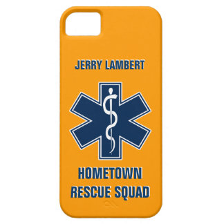 Paramedic EMT Name Template Case For The iPhone 5