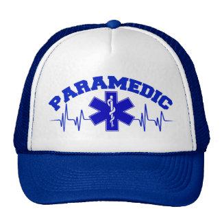 Paramedic Heart Monitor Cap Trucker Hat