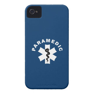 Paramedic Logo Theme iPhone 4 Case-Mate Cases