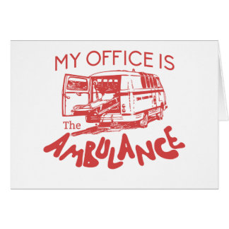 paramedic office card