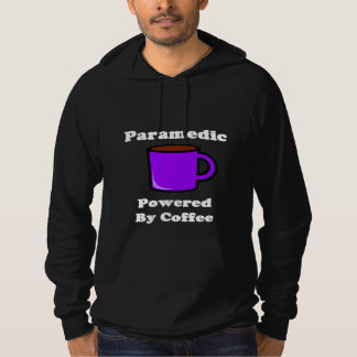 """Paramedic"" Powered by Coffee Hoodie"