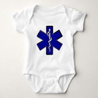 Paramedic Star Of Life Baby Bodysuit