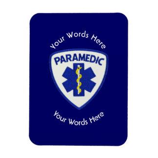 Paramedic Star Of Life Shield Rectangular Photo Magnet