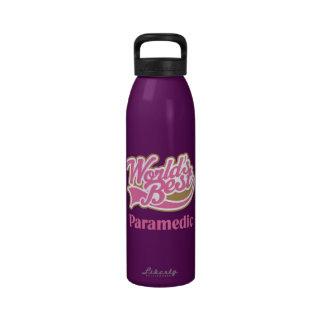 Paramedic Water Bottle Worlds Best