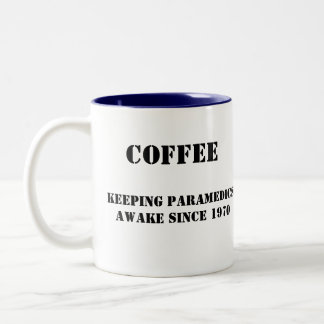 Paramedic's Coffee Two-Tone Coffee Mug