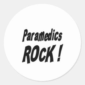 Paramedics Rock! Sticker