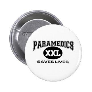 Paramedics Saves Lives Buttons