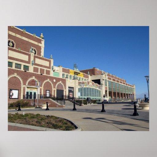 Paramount Theatre Convention Hall - Asbury Park NJ Poster