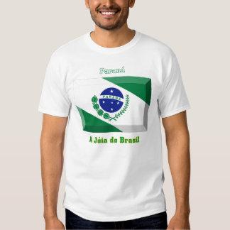 Paraná Flag Gem Tee Shirts