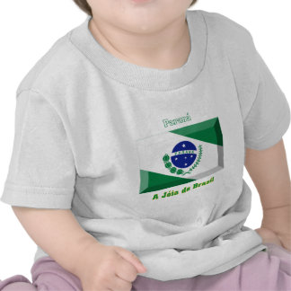 Paraná Flag Gem T Shirts