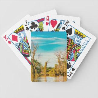 Parana River, San Nicolas, Argentina Bicycle Playing Cards