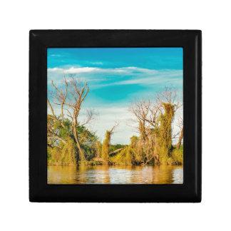 Parana River, San Nicolas, Argentina Gift Box