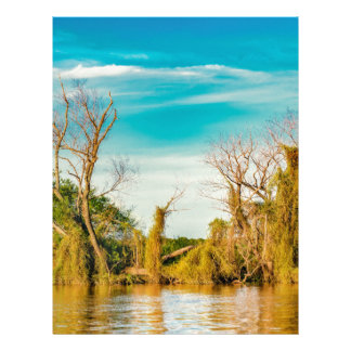 Parana River, San Nicolas, Argentina Letterhead