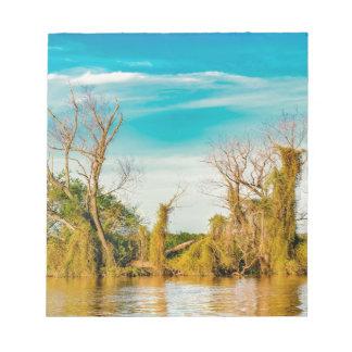 Parana River, San Nicolas, Argentina Notepad