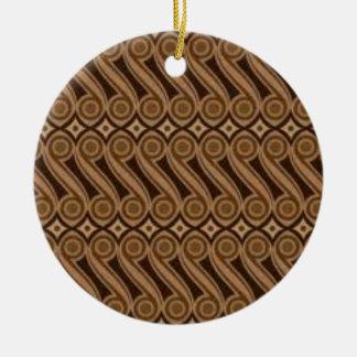 Parang's Batik Ceramic Ornament