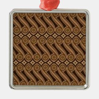 Parang's Batik Metal Ornament