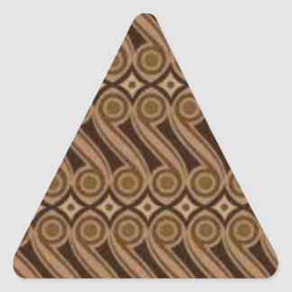 Parang's Batik Triangle Sticker