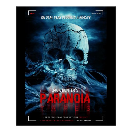 Paranoia Tapes Official Poster