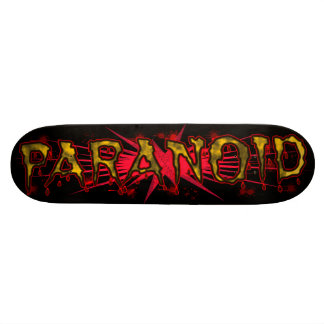 Paranoid Skateboard
