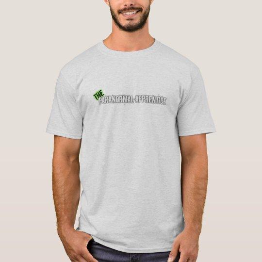 Paranormal Apprentice logo shirt white