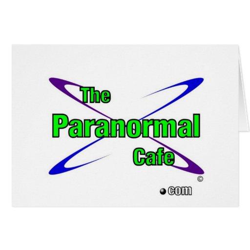 Paranormal Cafe Cards