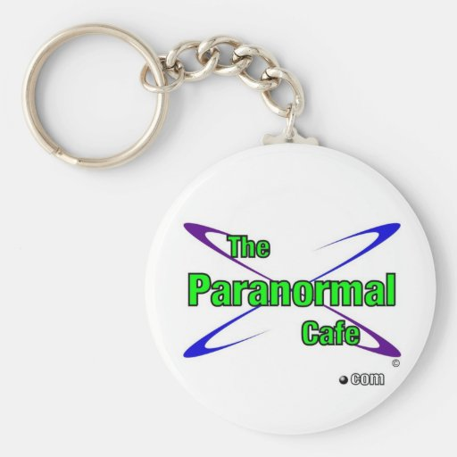 Paranormal Cafe Key Chains