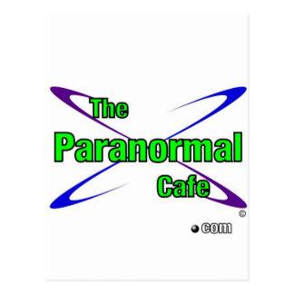 Paranormal Cafe Postcard