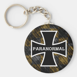 Paranormal Cross keychain