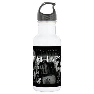 Paranormal Investigator Collage Water Bottle