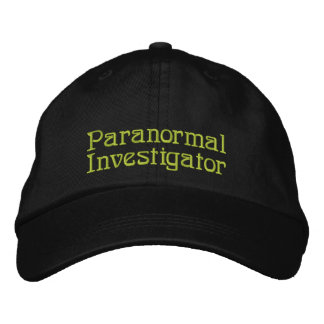 Paranormal Investigator Embroidered Baseball Cap