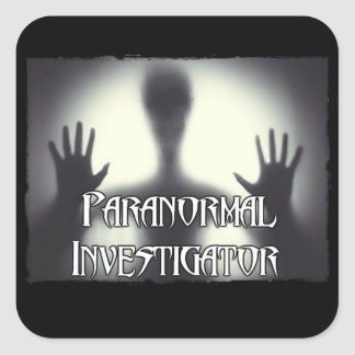 Paranormal Investigator Ghost Stickers