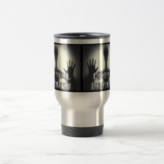 Paranormal Investigator Ghost Travel Mug