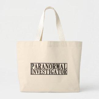 Paranormal Investigator Large Tote Bag