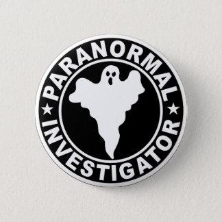 Paranormal Investigator Logo Halloween Costume 2 Inch Round Button