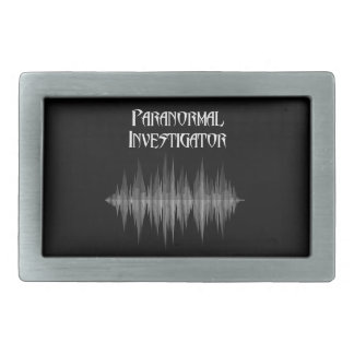 Paranormal Investigator Soundwave Belt Buckle
