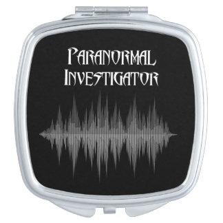 Paranormal Investigator Soundwave Compact Mirror