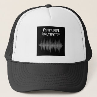 Paranormal Investigator Soundwave hat